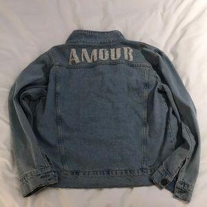 Sandro Denim Amour Jacket